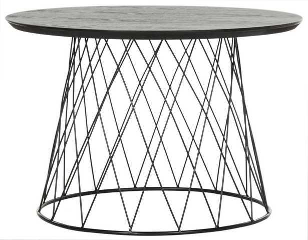 Roper Retro Mid Century Wood End Table - Black - Arlo Home - Arlo Home