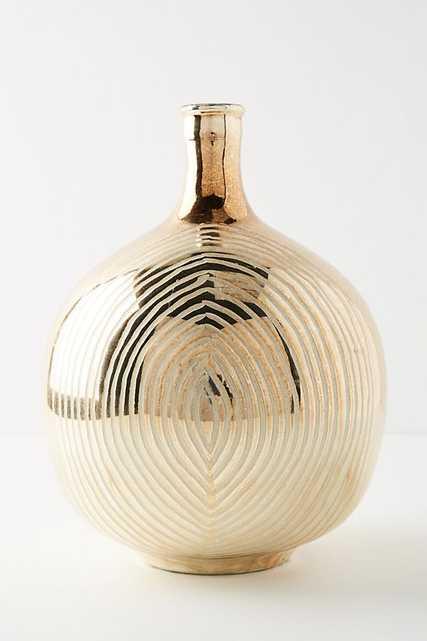 Autumnal Mercury Glass Vase - Anthropologie