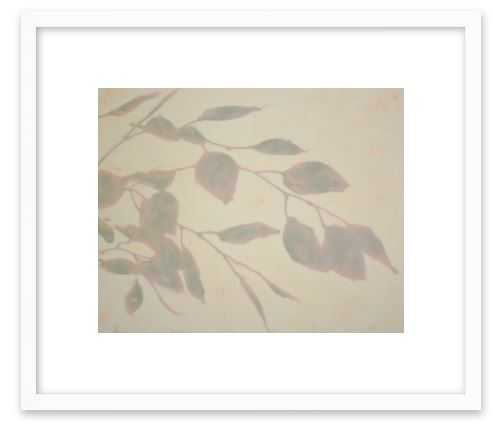 Pavanes - Contemporary White Wood Frame - Artfully Walls