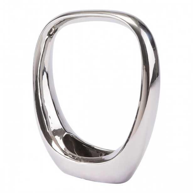 Oval Figurine Md Silver - Zuri Studios