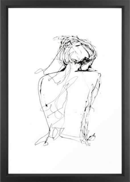 "Virginia Framed Art Print - Vector Black Frame - 15"" x 21"" - Society6"