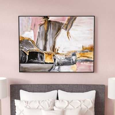'Eccentric Thoughts' Framed Painting Print on Canvas - Wayfair