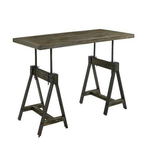 Staggs Adjustable Standing Desk - Wayfair