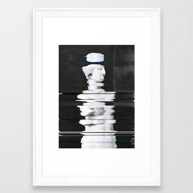 Digitex Triacotine 16 Framed Art Print - Society6