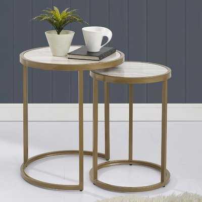 Selzer 2 Piece Nesting Tables - Wayfair