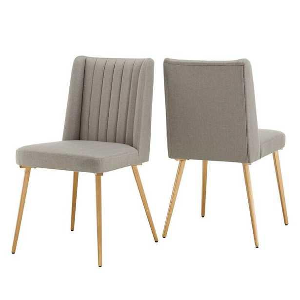 Enzo Upholstered Wingback Side Chair (Set of 2) - AllModern
