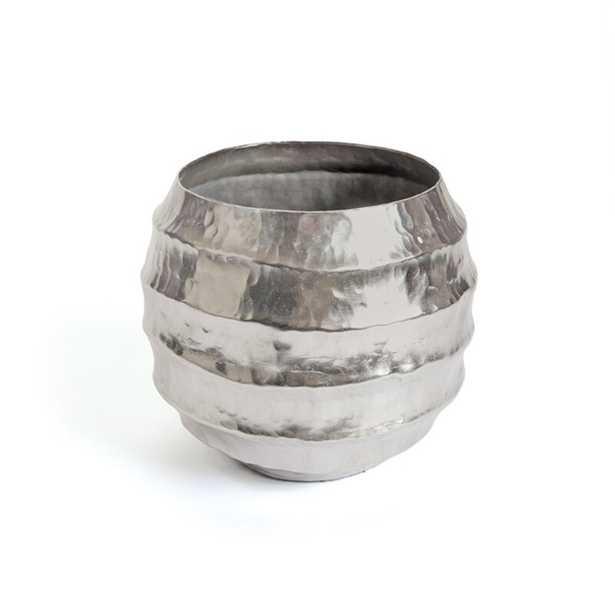 Branksome Aluminum Pot Planter - Wayfair