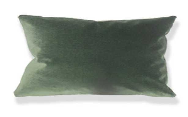 """Wish Holiday Pillow Green - 12"""" x 18"""" Lumbar - Linen & Seam"""