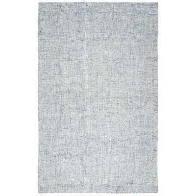 Marsh Hand-Tufted Wool Blue Area Rug, 9' x 12' - Wayfair