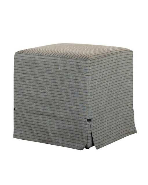 SOPHIE SLIPCOVER OTTOMAN - McGee & Co.