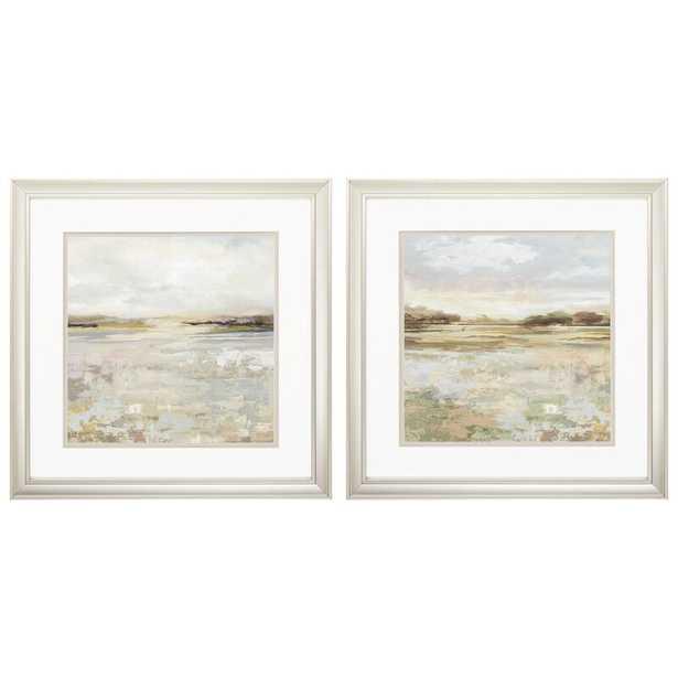 'Sunset' 2 Piece Picture Frame Print Set - Birch Lane