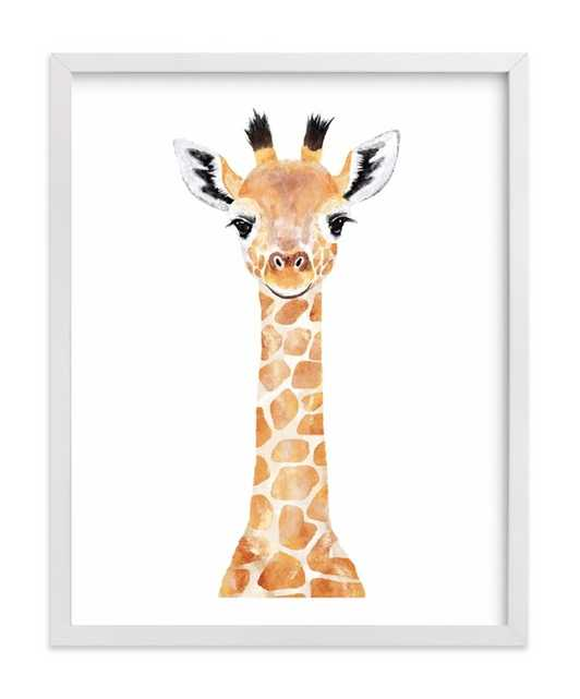 baby giraffe 2 - Minted