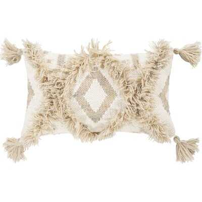 Ilene Lumbar Pillow; with insert - Wayfair