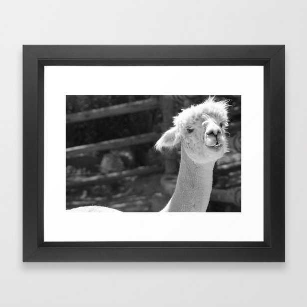 Alpaca bag Photograph Framed Art Print - Society6