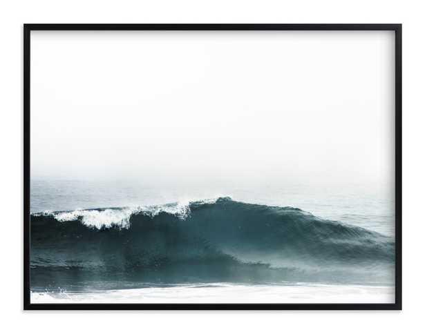 Mariner's Muse - 40x30 - Rich Black Wood Frame - Vibrant Ocean - Standard - Minted