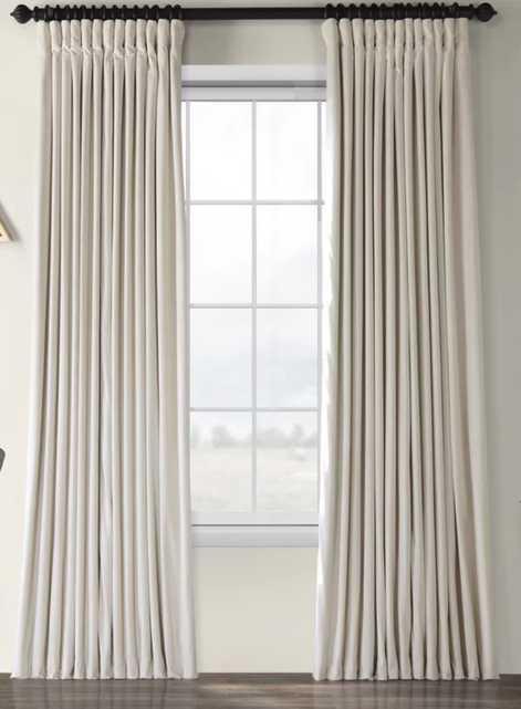 Rhinehart Solid Max Blackout Thermal Tab Top Single Curtain Panel - Wayfair
