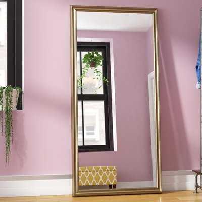 Modern Burnished Full Length Mirror - Wayfair