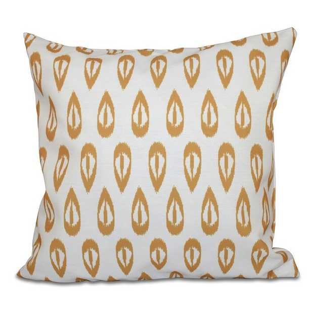Groth Tears Geometric Print Throw Pillow - AllModern