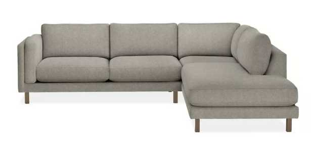 Cade Sectional Three-Piece Sectional with Left Back Sofa - Room & Board