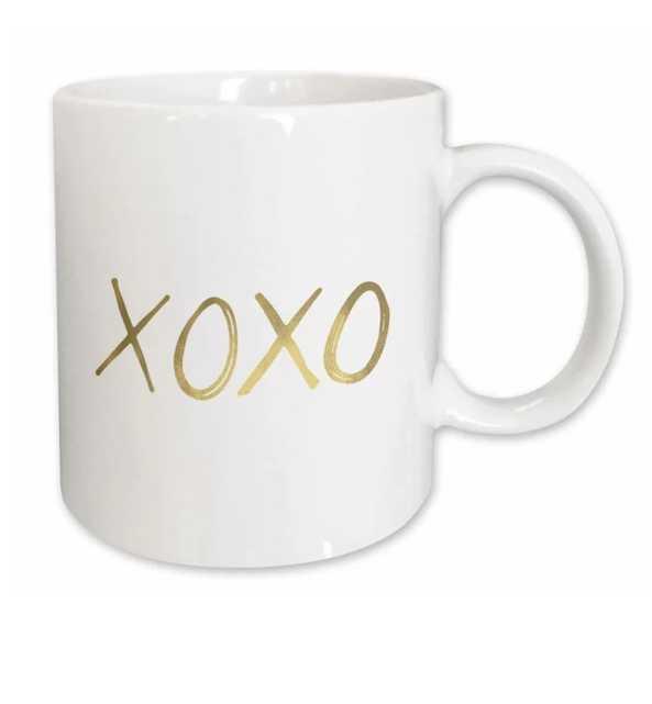 Glam Xoxo Coffee Mug - Wayfair