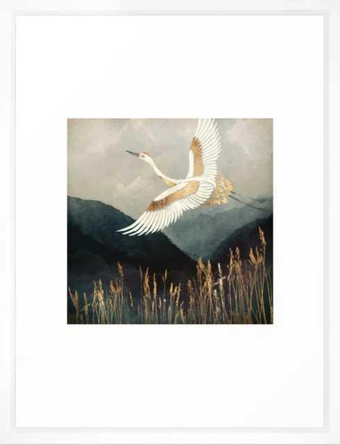 Elegant Flight Framed Art Print - Society6