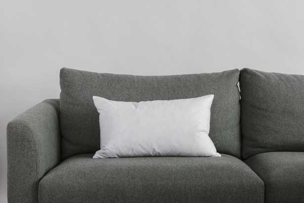 "13""x22"" White Duck Feather Decorative Pillow Insert - Havenly Essentials"