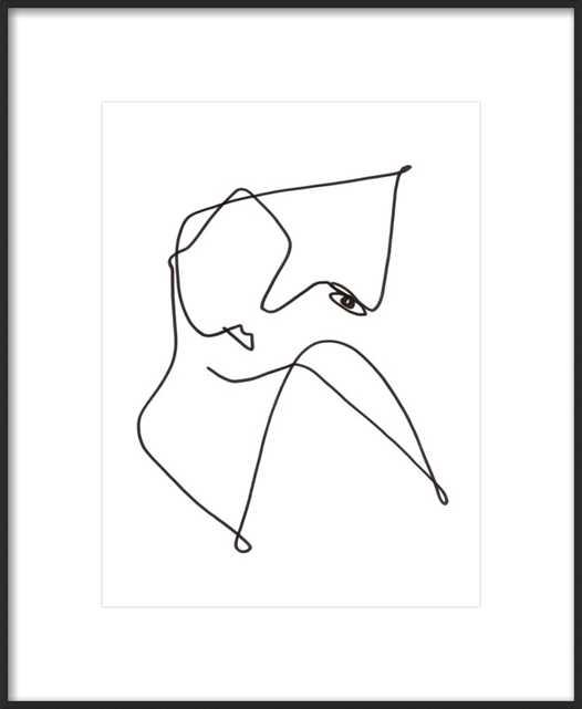 "La Mirada by Femke Colaris for Artfully Walls 16 x 20"" - Artfully Walls"