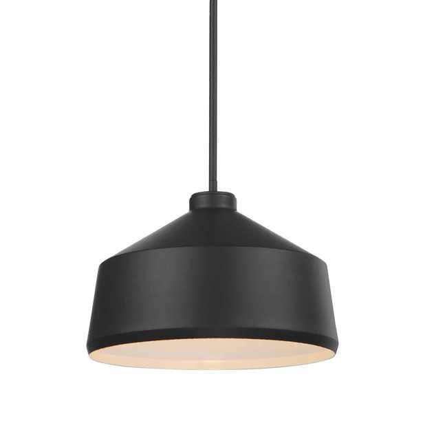 Holgate 1 Light Black Pendant - Hudsonhill Foundry
