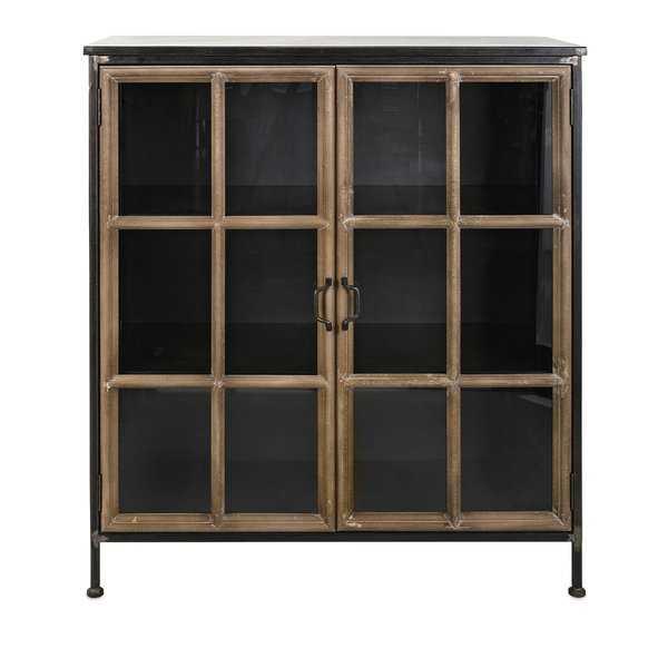 Williston Forge Minix 2 Door Accent Cabinet - Wayfair