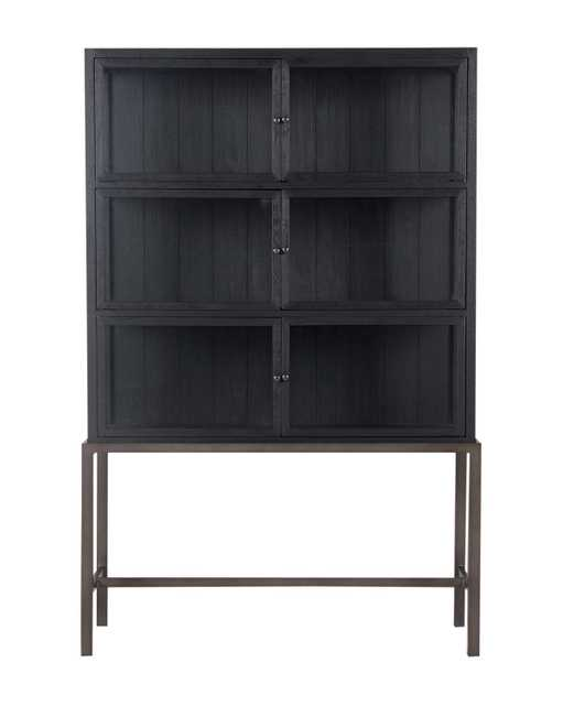 LAWLEY CABINET, DRIFTED BLACK - McGee & Co.