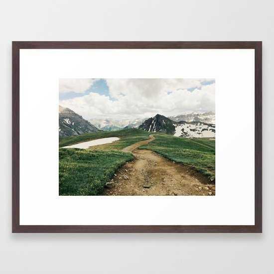 Colorado Mountain Road - Society6
