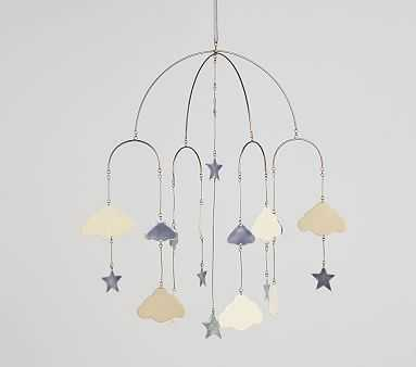 Stars & Clouds Mobile - Pottery Barn Kids