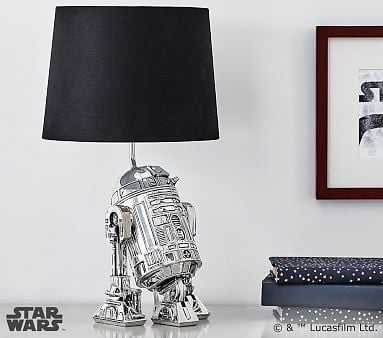 Star Wars(TM) R2-D2(TM) Complete Lamp - Pottery Barn Kids