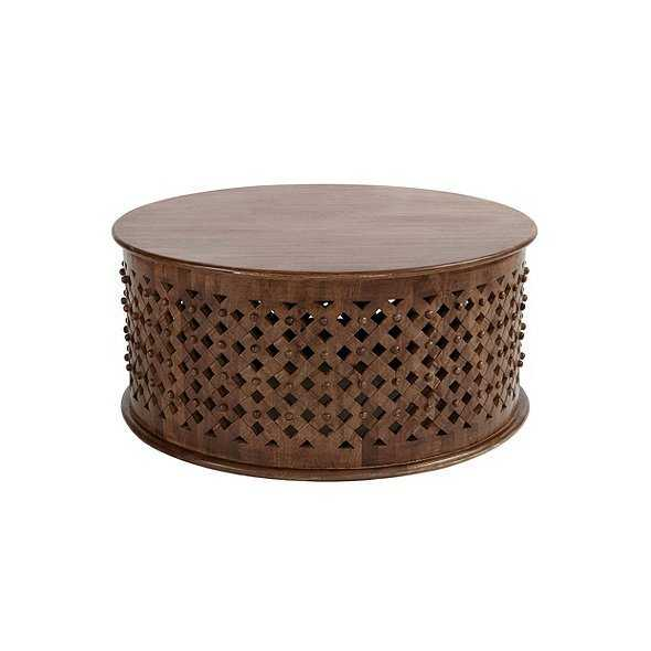 Bornova Coffee Table - Brown - Ballard Designs