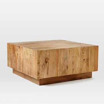 Plank Coffee Table - West Elm