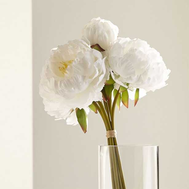 White Peony Bunch - Crate and Barrel