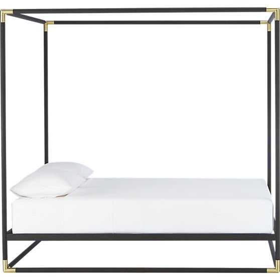 Frame canopy bed - King - CB2