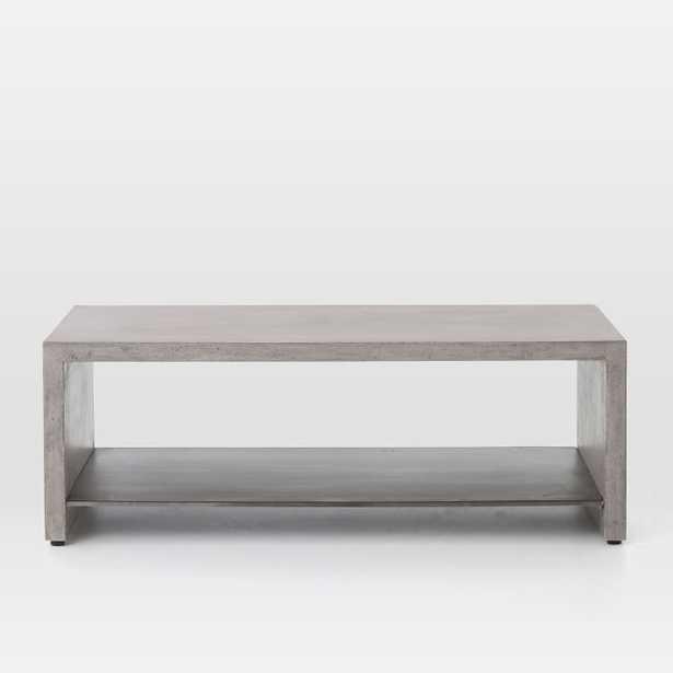 Industrial Concrete Coffee Table - West Elm