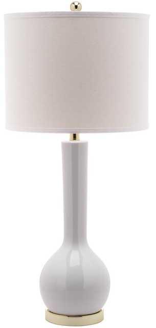 MAE LONG NECK CERAMIC TABLE LAMP (SET OF 2) - Arlo Home