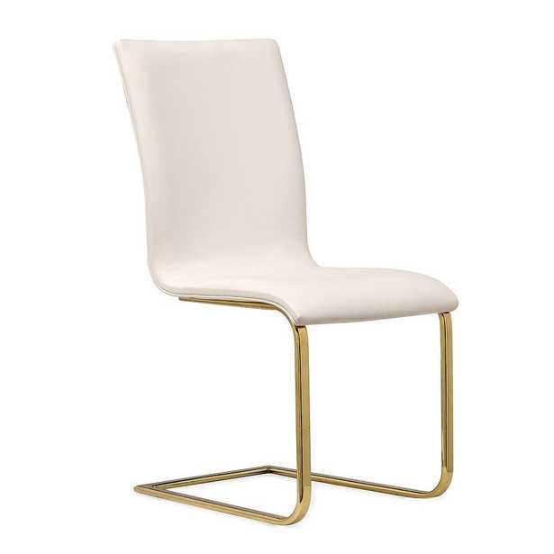 June WHITE DINING CHAIR-SET OF 2 - Maren Home