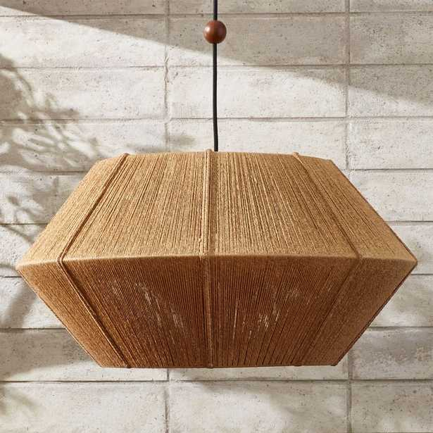 Love One Another Natural Pendant Light - CB2