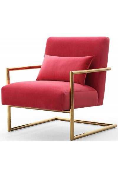 Lyla Jane Velvet Chair - Maren Home