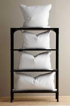 Standard Size White Duck Feather Pillow Sham Filler - Havenly Essentials