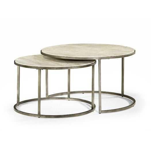 Masuda Nesting Coffee Table - Set of 2 - Wayfair