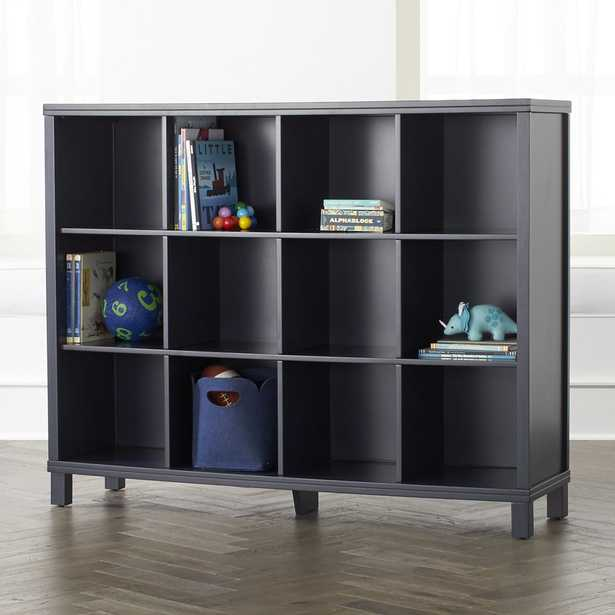 Navy 12-Cube Bookcase - Crate and Barrel