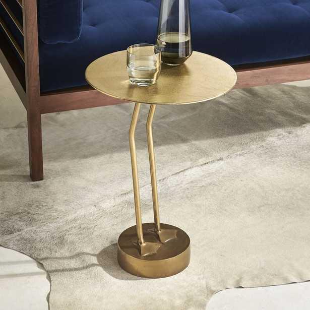 Brass Bird Side Table - CB2