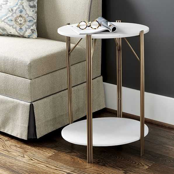 Jordan Marble Side Table - Ballard Designs