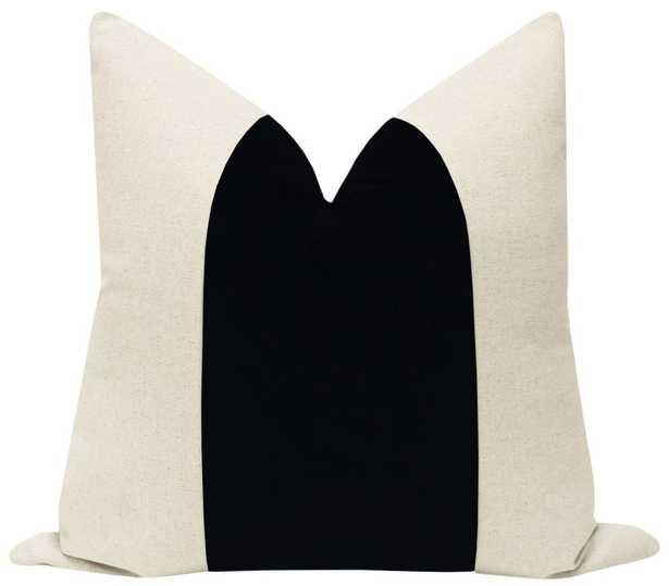 "PANEL :: Classic Velvet // Ebony -18"" x 18"" - Little Design Company"