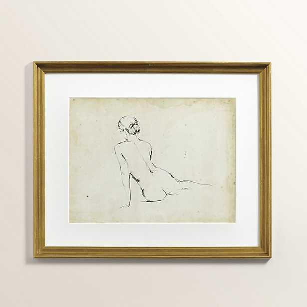 Ballard Designs Petite Figure Sketch Art - Ballard Designs