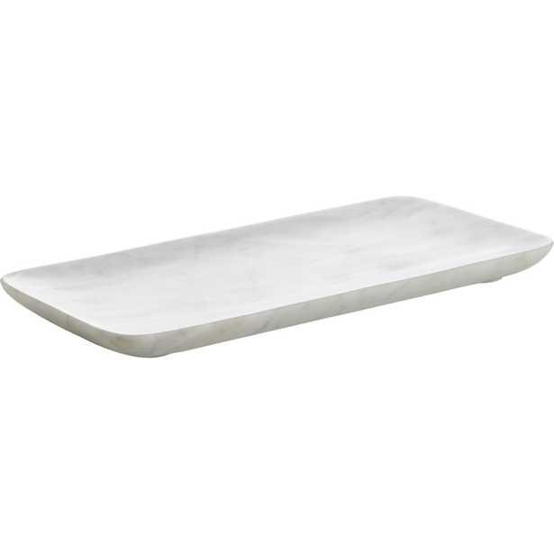 marble tank tray - CB2